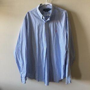 Ralph Lauren classic fit long sleeve shirt XXL